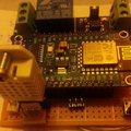 WiFi-s relé hő- és páramérővel EH06