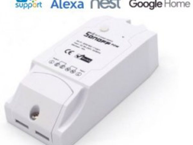WiFi-s fogyasztásmérő (Sonoff POW)