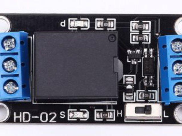 3V elektronikus kapcsoló/jelfogó (relé)
