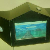 Projekt 8: Raspberry Infopaneles kezelő érintőképernyővel