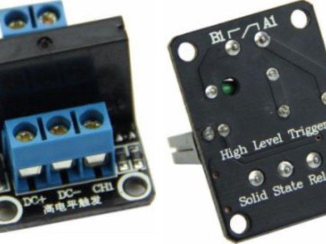Mozgó alkatrész nélküli elektronikus kapcsoló (relé)