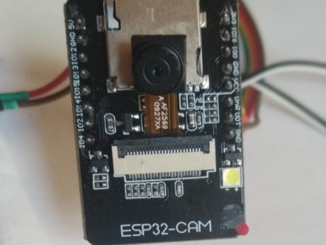 ESP32 kamera (AI-Thinker ESP32-CAM)