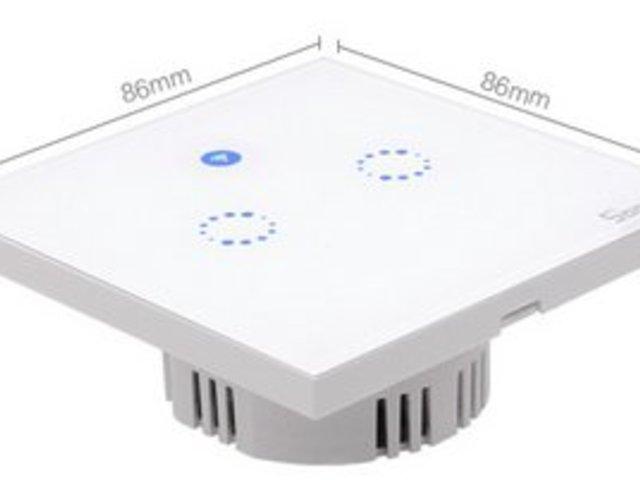 Wifi-s érintős villanykapcsoló (Sonoff T1 EU)