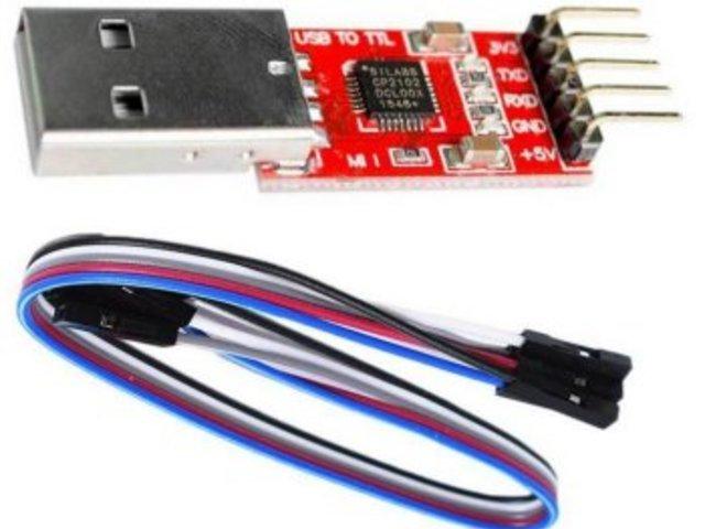 Firmware flashelés UART vonalon