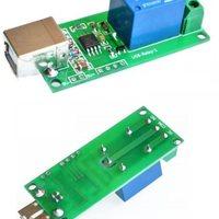 USB vezérlésű relé