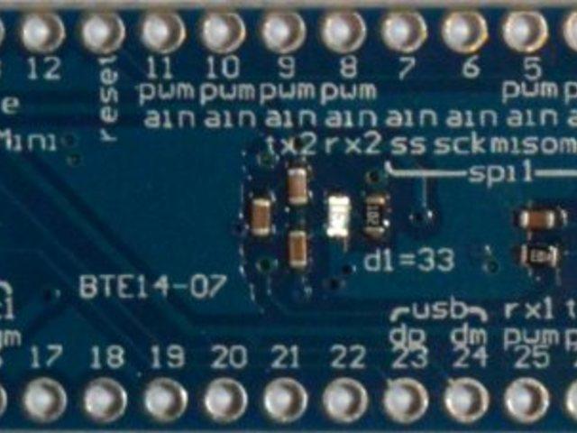Maple Mini - STM32F103RCBT6 fejlesztői lap
