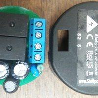 Shelly2 WiFi kapcsoló, fogyasztásmérővel