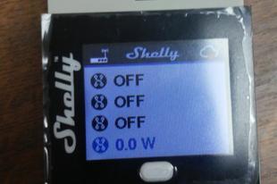 Shelly4 Pro wifis relé(k)
