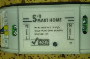 WiFi-s relé (Smart Home/Powstro Basic)