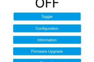 Tasmota firmware
