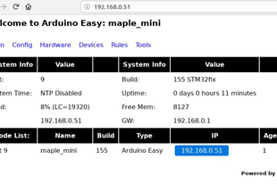 ArduinoEasy firmware