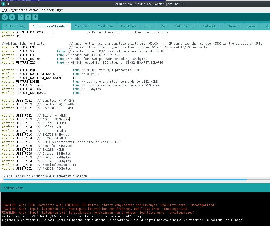 STM32F103RCT6 fejlesztői lap - a következő fokozat - Bitek