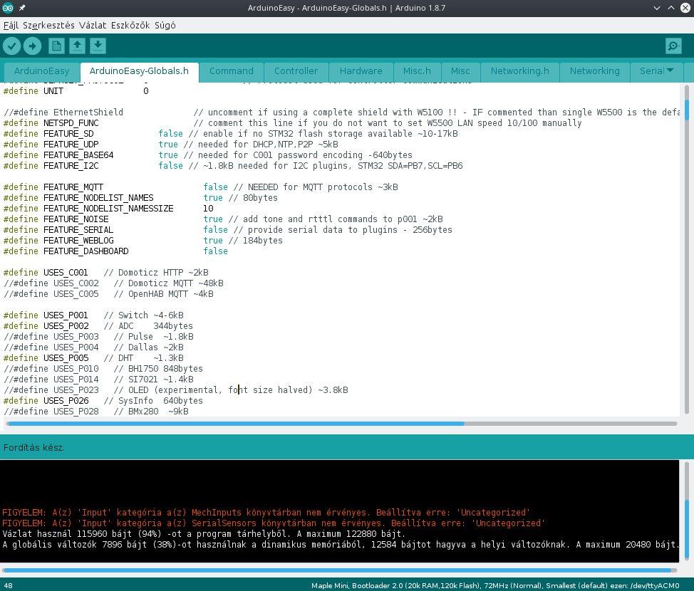 Maple Mini - STM32F103RCBT6 fejlesztői lap - Bitek mindenhol