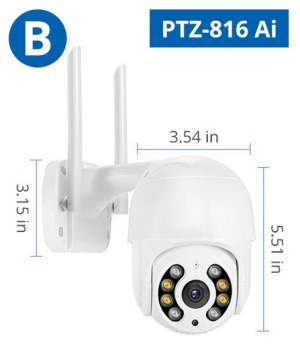 Misecu PTZ-816 Ai kültéri IP kamera