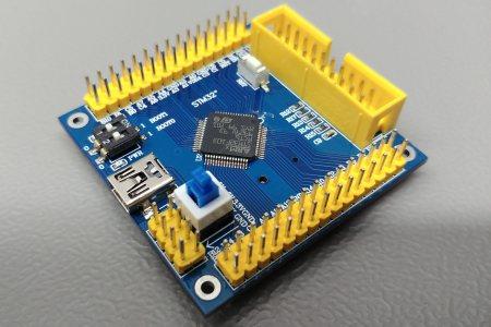 STM32F103RCT6 fejlesztői lap - a következő fokozat
