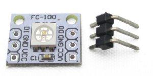 WS2812 alias NeoPixel címezhető LED