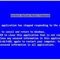 A kék halál szövegét maga Steve Ballmer írta