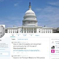 Twitter robot figyeli az USA kongresszusának Wikipedia-szerkesztéseit