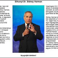 Meghalt Sidney Harman