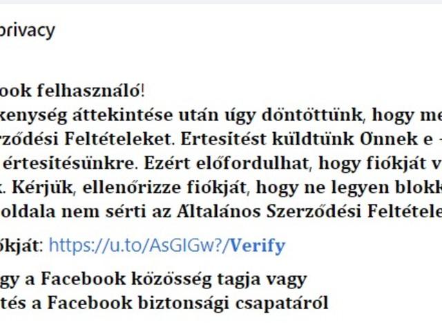 Vigyázz!!! - Ellophatják a Facebook profilodat (is)