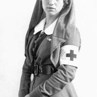 Goszthony Mária, mint ápolónő