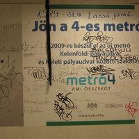 Még az idén átadják a 4-es metrót