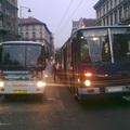 Kampánybusz szívatta az utasokat