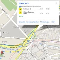 Elindult a budapesti Google Transit
