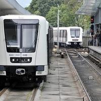 Káosz az M2-es metró vonalán - videó