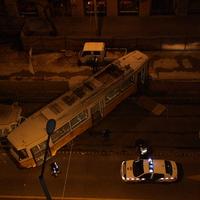 Kisiklott egy villamos a Fehérvári úton