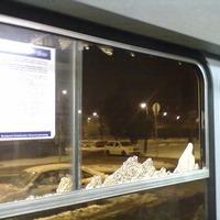 Betört ablakkal közlekedett a 7-es busz