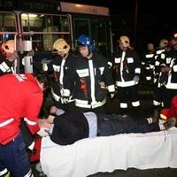 Saját busza ütött el egy BKV-sofőrt
