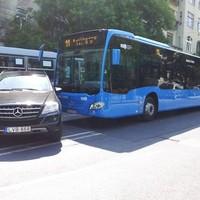 Törnek az új Mercedes buszok - fotók