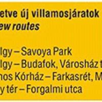 Jelentős változások a közlekedésben