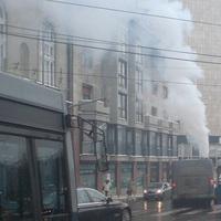 Üzemszerű? Több méteres füstfelhőt hagyott maga után a busz