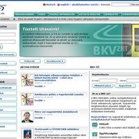 Teszteljétek a BKV új weboldalát!