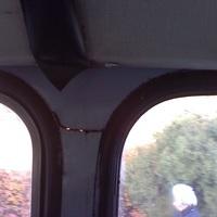 Törött kasztnival járnak a buszok