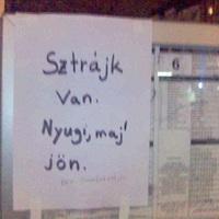 Így élik meg olvasóink a BKV-sztrájkot