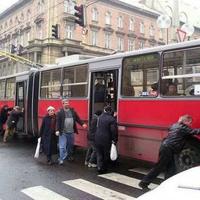 A trolibusz közlekedés sajátossága