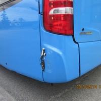 Így sérült meg az új Mercedes busz - fotók