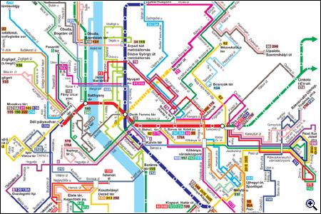 bkv vonalhálózati térkép Tanulja újra a budapesti tömegközlekedést!   BKV Figyelő bkv vonalhálózati térkép