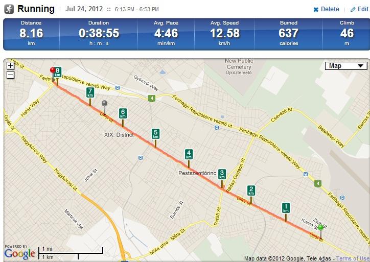budapest 1 es villamos útvonala térkép BKV Futás budapest 1 es villamos útvonala térkép