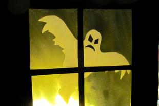 Kísértetház Halloween-re