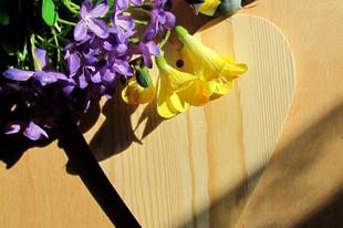 Tavaszi ajtódísz