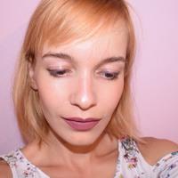 Lila őszi smink