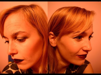 Két arcú boszorkány - halloweeni smink