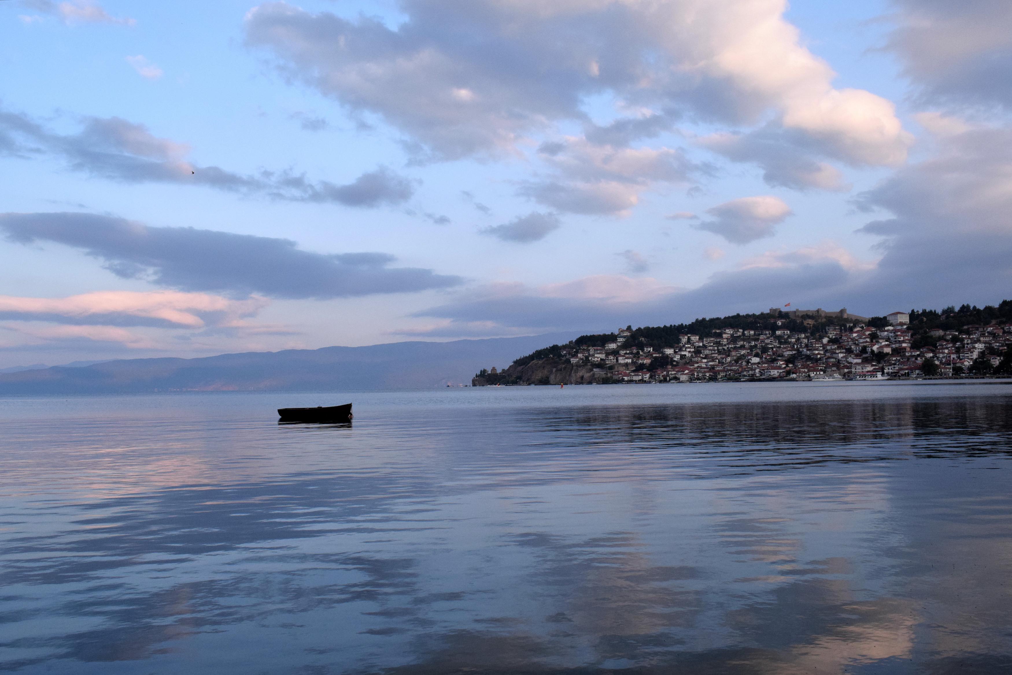 A partról csodás kilátás tárul a szemünk elé.
