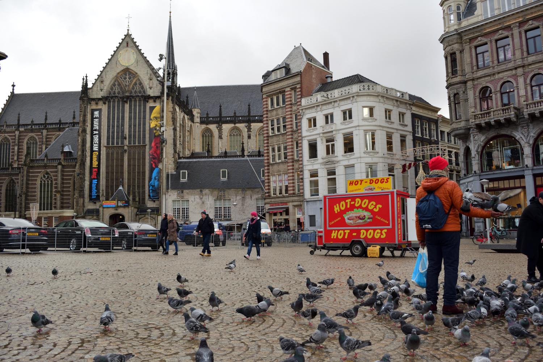 A De Nieuwe Kerkben a Dam téren Mahatma Gandhiról, Martin Luther Kingről és Nelson Mandeláról láthatunk kiállítást még február 4-ig - ha átverekedjük magunkat a galamb seregen :D.