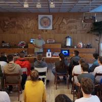 Robotika bemutatót tartottunk a Kőkúti iskolában 7. - 8. osztályosoknak! 2017.09.19.