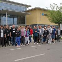 Robotika szakköri kirándulás az NI Hungary Kft. debreceni üzemében! 2018.04.17...